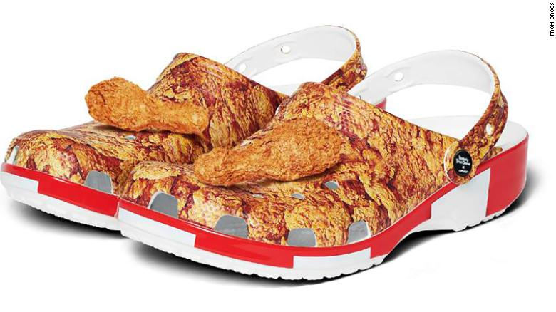 KFC and Crocs team up to make something you can't un-see