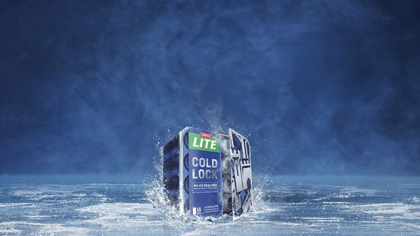 Castle Lite innovates with new packaging that keeps beer ice cold for 3 hours