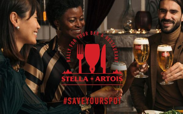 Stella Artois is helping South African hospitality survive with #SaveYourSpot