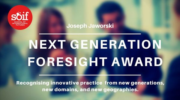 The Next Generation Foresight Awards 2020 - enter your project before 31 May 2020