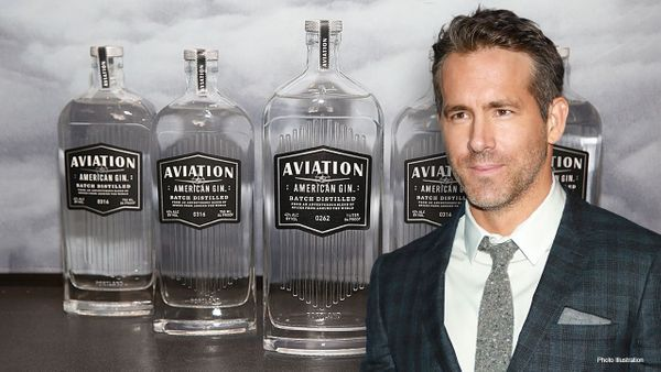 How much of Aviation Gin's R10 billion sales price was as a direct result of Ryan Reynolds' deft touch?