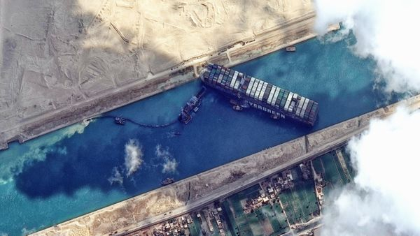 The problem in the Suez Canal was forecast, but ignored